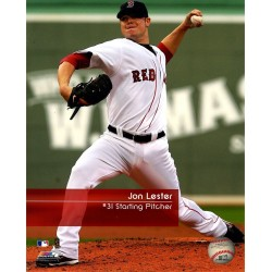 Steiner Sports - LESTPHU008131 - Jon Lester nbr31 Red Sox Feel The Game 8X10 Photo uns