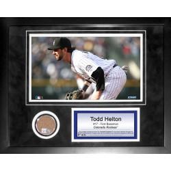 Steiner Sports - HELTPHA011000 - Todd Helton 11x14 Mini Dirt Collage