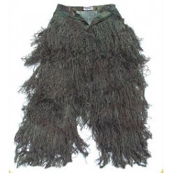 GhillieSuits - G-BDU-P-WOODLAND-XXL - Ghillie Suit Pants Woodland XXL
