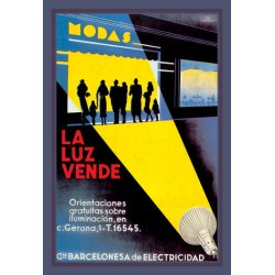 Buyenlarge - 01549-7P2030 - La Luz Vende 20x30 poster