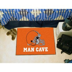 Fanmats - 14289 - Cleveland Browns Man Cave Starter Rug 19x30