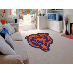 Fanmats - 16922 - Chicago Bears Mascot Mat Approx. 3 ft x 4 ft