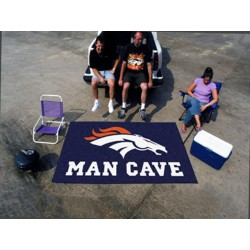 Fanmats - 14298 - Denver Broncos Man Cave UltiMat Rug 5x8