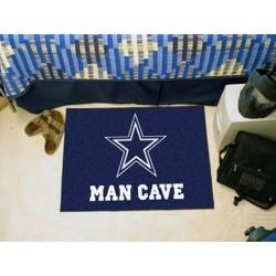 Fanmats - 14293 - Dallas Cowboys Man Cave Starter Rug 19x30