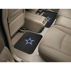 Fanmats - 12299 - Dallas Cowboys Backseat Utility Mats 2 Pack 14x17