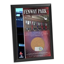 Steiner Sports - FENWPLU004000 - Fenway Park 4x6 Dirt Plaque