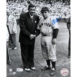 Steiner Sports - BERRPHS011004 - Yogi Berra Signed 11X14 with Babe Ruth Photo (MLB Auth)