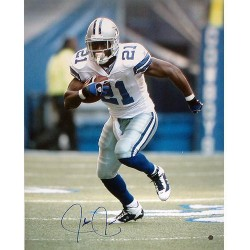 Steiner Sports - JONEPHS016036 - Julius Jones Cowboys Action 16x20 TRI Auth