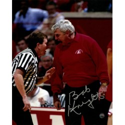 Steiner Sports - KNIGPHS008036 - Bob Knight Signed Red Sweater Yelling At Referee 8x10 Photo