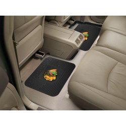Fanmats - 12394 - Chicago Blackhawks Backseat Utility Mats 2 Pack 14x17