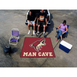 Fanmats - 14476 - NHL - Arizona Coyotes Man Cave Tailgater Rug 5x6
