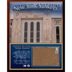 Steiner Sports - 2009119522101PL - 2009 Yankee Stadium 8x10 Dirt Plaque