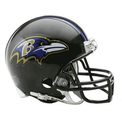 Steiner Sports - RAVEMIU000002 - Baltimore Ravens Replica Mini Helmet