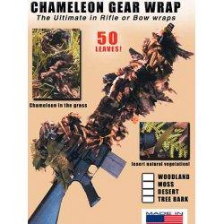 BushRag - GW-2WD - Chameleon Gear Wrap Rifle Cover Woodland