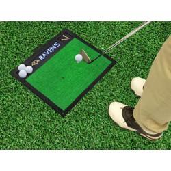 Fanmats - 15455 - Baltimore Ravens Golf Hitting Mat 20 x 17