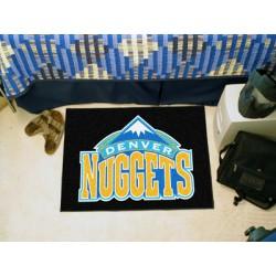 Fanmats - 11905 - NBA - Denver Nuggets Starter Rug 19 x 30