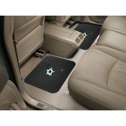 Fanmats - 12420 - Dallas Stars Backseat Utility Mats 2 Pack 14x17