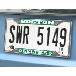 Fanmats - 14839 - NBA - Boston Celtics License Plate Frame 6.25x12.25