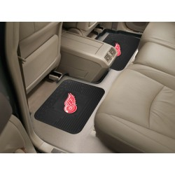 Fanmats - 12395 - Detroit Red Wings Backseat Utility Mats 2 Pack 14x17