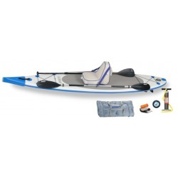 Sea Eagle - NN116K_D - Sea Eagle NeedleNose SUP Inflatable Paddle Board LongBoard 11ft Deluxe Package