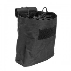 NcSTAR - CVFDP2935B - NcStar CVFDP2935B 8-1/2-Inch x 7-1/2-Inch VISM Folding Dumb Pouch, Black