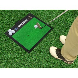 Fanmats - 15459 - Dallas Cowboys Golf Hitting Mat 20 x 17