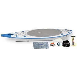 Sea Eagle - NN116K_EP - Sea Eagle NeedleNose SUP Inflatable Paddle Board LongBoard 11ft Electric Pump Pkg