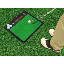 Fanmats - 15460 - Denver Broncos Golf Hitting Mat 20 x 17