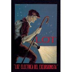 Buyenlarge - 01535-7P2030 - Luz Electrica del Excursionista 20x30 poster