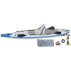 Sea Eagle - NN126K_D - Sea Eagle NeedleNose SUP Inflatable Paddle Board LongBoard 12ft Deluxe Package