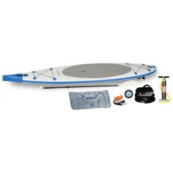 Sea Eagle - NN126K_EP - Sea Eagle NeedleNose SUP Inflatable Paddle Board LongBoard 12ft Electric Pump Pkg