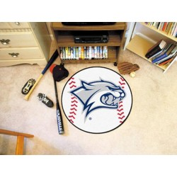 Fanmats - 1092 - University of New Hampshire Baseball Mat 27 diameter