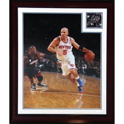 Steiner Sports - KIDDPHB000006 - Jason Kidd Autographed Knick Debut 16x20 Collage with Split Matte (18x22 - 7557)