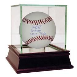 Steiner Sports - BAILBAS000005 - Homer Bailey Signed MLB Baseball w No Hitter 9-28-12 7-2-13 Insc (MLB Auth)