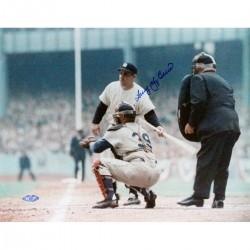Steiner Sports - BERRPHS011028 - Larry Yogi Berra Turning Towards Catcher Signed 11x14 Horizontal Photo