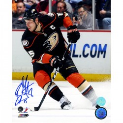 Steiner Sports - GETZPHS008003 - Ryan Getzlaf Anaheim Ducks Signed Game Action 8x10 Photo (AJ Sports Auth)