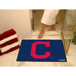 Fanmats - 16911 - Cleveland Indians Block-C All-Star Mat 33.75x42.5