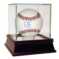Steiner Sports - BAILBAS000001 - Homer Bailey Signed MLB Baseball w No Hitter 9-28-12 Insc (MLB Auth)