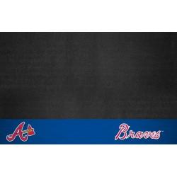 Fanmats - 12145 - MLB - Atlanta Braves Grill Mat 26x42