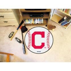 Fanmats - 16912 - Cleveland Indians Block-C Baseball Mat 27 diameter