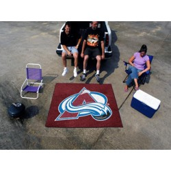 Fanmats - 10614 - Colorado Avalanche Tailgater Rug 5x6