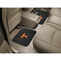 Fanmats - 12298 - University of Tennessee Backseat Utility Mats 2 Pack 14x17