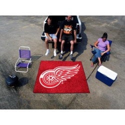 Fanmats - 10378 - Detroit Red Wings Tailgater Rug 5x6
