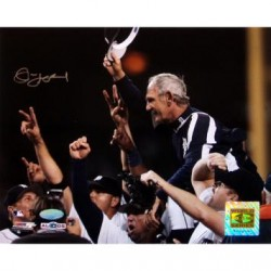 Steiner Sports - LEYLPHS008005 - Jim Leyland 2006 ALDS Celebration Carry Off Horizontal 8x10
