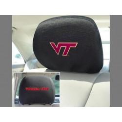 Fanmats - 12602 - Virginia Tech Head Rest Cover 10x13