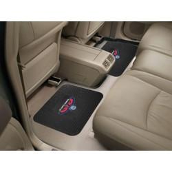 Fanmats - 12364 - NBA - Atlanta Hawks Backseat Utility Mats 2 Pack 14x17
