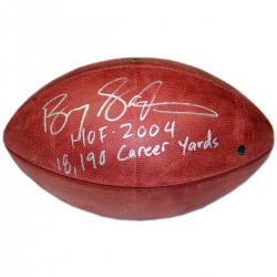 Steiner Sports - SANDFOS000010 - Barry Sanders Signed NFL Duke Football w HOF 2004 18190 Career Yards Insc