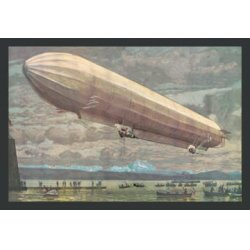 Buyenlarge - 01519-5P2030 - Zeppelin Above Lake Constance or the Bodensee between Austria, Germany & Switzerland 20x30 poster