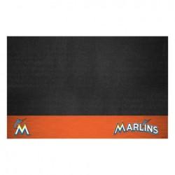 Fanmats - 12154 - Miami Marlins Grill Mat 26x42