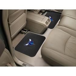 Fanmats - 12365 - NBA - Charlotte Hornets Backseat Utility Mats 2 Pack 14x17